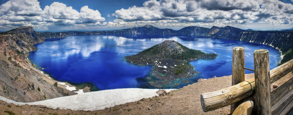 Crater Lake National Park and Discovery Island