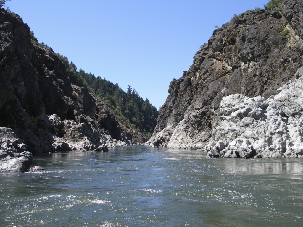 Rogue River in the Hellgate Canyon